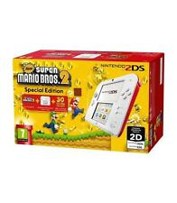 Videoconsola Nintendo 2DS roja y blanco Nsmb 2