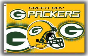 Green Bay Packers Football Memorable Flag 90x150cm3x5ft Fan Apparel best banner