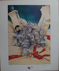 Lot de 2 affiches/sérigraphies Tintin - Hommage à Hergé et Bilal Somon neuf