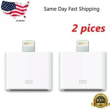 2pc 30 pin to 8 pin (lightning)  adapter converter for apple iphone/ipad/ipod