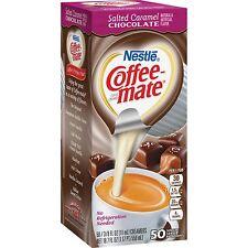 Coffee-mate Liquid Coffee Creamer Salted Caramel Chocolate 0.375 oz Mini Cups 50