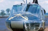 Vietnam War Picture Photo Heli Bell UH-1 Iroquois F Troop Air 9th Cavalry 3285