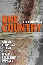 @@NEW@ALI ABUNIMAH - One Country: A Bold Proposal to End the Israeli-Palestinian