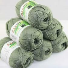 AIP Sale 6 Skeinsx50g Soft Bamboo Cotton Baby Wrap Hand Knitting Crochet Yarn 14