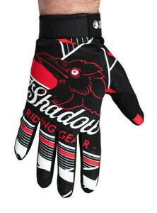SHADOW CONSPIRACY CONSPIRE BMX MTB MTX GLOVES TOUCH SCREEN SUBROSA BLACK RED NEW