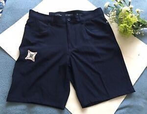 NWT Izod Advantage Performance Men's Navy Hybrid Shorts Size 34