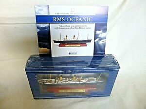 Atlas Edition RMS OCEANIC Diecast Model Ship 1:1250 Scale 2017 Boxed SEALED