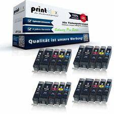 20x Tintenpatronen für Canon Pixma-MP-600-R Black Cyan Magen - Schwarz Pro Serie