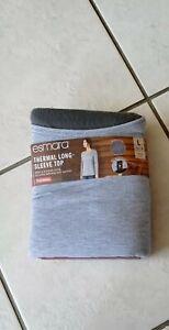Esmara Thermal Long Sleeve Tops Grey size Large 16/18