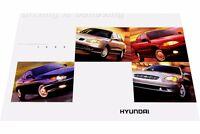 1999 Hyundai 14-page Car Sales Brochure - Tiburon Sonata Elantra Accent
