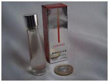 Miniature parfum  perfume LUMIERE de Rochas avec boîte nouvelle version