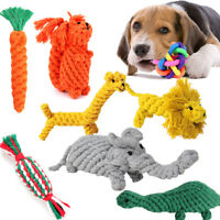Braided Cotton Rope Pet Dog Funny Training Play Toys Animal Chews Bite Durable