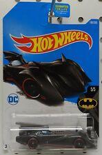 CARTOON DC COMIC BATMAN BATMOBILE REDLINES 190 SUPER HERO 5 HW HOT WHEELS