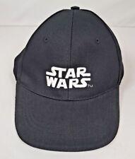 Logotipo oficial de Star Wars Negro Blanco Gorra De Béisbol Sol Sombrero Para Hombre Ajustable Regalo