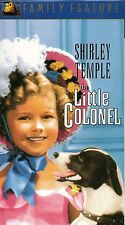 "SHIRLEY TEMPLE ""THE LITTLE COLONEL"" VHS 2001 fox"