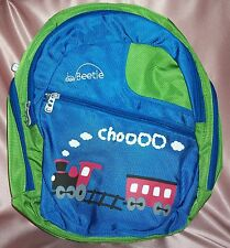 NEW ~ Train Kiddie Bag Back Pack Drink Bottle ~ Little Beetle ~ GIFT