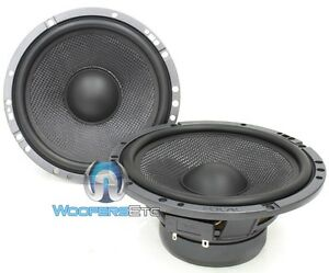 """(2) FOCAL MIDWOOFERS 6.5"""" CAR MIDRANGES SPEAKERS FROM HP-165A3 ACCESS PAIR NEW"""