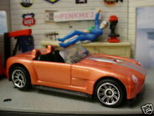 2010 Matchbox Showroom FORD SHELBY COBRA Concept∞Orange∞ New LOOSE