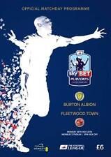 LEAGUE TWO PLAY OFF FINAL  2014 Burton v Fleetwood