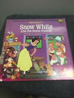 Vintage 1969 Walt Disney Snow White And The Seven Dwarfs Vinyl Record 3906