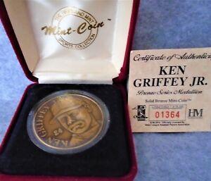 The Highland Mint Ken Griffey Jr. Bronze Series Medallion Limited Edition #01364