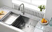 Starstar 29 x 19 Undermount 304 Stainless Steel Single Bowl Kitchen Sink