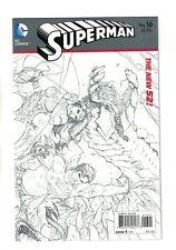 Superman Vol. 3 - #16 Kennech Rocafort 1:25 Schizzo Variante Dc Comics - 2013