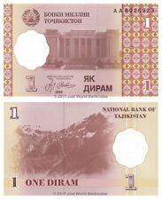 Tadjikistan 1 diram 1999 P-10 1st Prefix 'AA' ex-URSS billets UNC