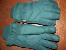 Thinsulate Green Insulated Gloves, Worn Once, Size Medium, Great Condition