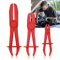 Flexible Fuel Water Hose Clamp 3 Pieces/Set Pinch Off Pliers Brake Line Pipe