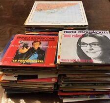 lot de 100 vinyles 45 tours + 30 33 tours divers genres
