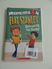 NEW...IN SHRINKWRAP!!...FLAT STANLEY (I Can Read) 2 pack