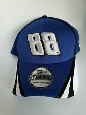 New Dale Earnhardt Jr. Fitted Hat/cap by New Era 39Thirty Blue/White NEW. Nascar