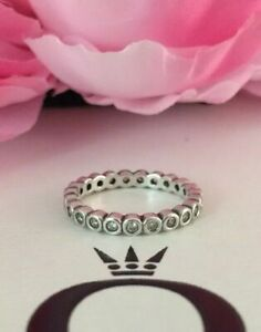Alluring Brilliant Ring Authentic Pandora Sterling Silver with CZ Ring 190942CZ