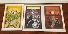 California Artist Gloria Joy three Lithograph Prints
