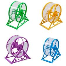Exercise Wheel Hamster Gerbil Cage Toy Spinner Pet Running Jogging Disk Silent