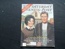 1977 NOV THE SATURDAY EVENING POST MAGAZINE- LIZ TAYLOR-SENATOR'S WIFE - SP 2468