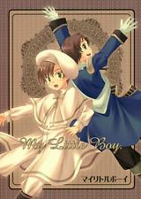 Hetalia Axis Powers BL Doujinshi Fan Comic LHK Spain x Romano My Little Boy