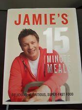 Jamie's 15 Minute Meals Jamie Oliver cookbook