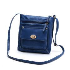 Womens Ladies Leather Satchel Cross Body Bag Messenger Handbag Shoulder Bag UK