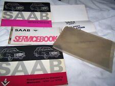 Vintage Saab Owner Manual 2 Door Sedan Station Wagon & Supplement / service book