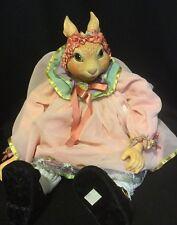 "Katherine's Collection Wayne Kleski Retired 21"" Bunny Rabbit Doll"