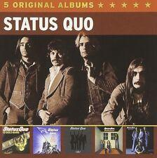 STATUS QUO - 5 ORIGINAL ALBUMS 5 CD NEUF