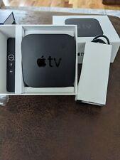 (2) Apple TV 32GB 4K HD Media Streamer - Black