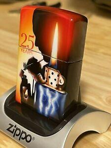 Zippo Limited Edition Mazzi 25th Anniversary Airbrush Design 181/250 New In Box