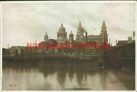 VINTAGE  POSTCARD CANNING DOCK LIVERPOOL