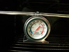 Savisto Stainless Steel Oven Thermometer / Temperature Gauge For Pizza Ovens WE