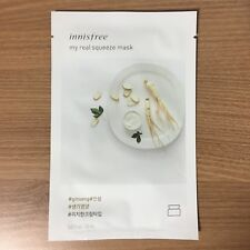 1 SHEET INNISFREE MY REAL SQUEEZE MASK PACK - GINSENG (NOURISHMENT & HEALTHY)