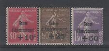 "FRANCE STAMP TIMBRE N° 266/68 "" SEMEUSE 4ème SERIE C.A.1930 "" NEUF xx TTB P628"