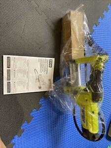 New Ryobi ONE+ 18V 18 Volt Cordless Grease Gun Flexible Hose Tool Only